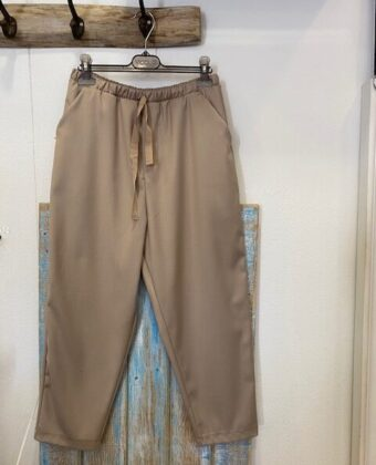Pantalone coulisse Vicolo gesso